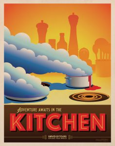 Kitchen Travel Poster